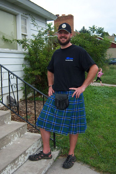 New Kilt from The Kilted Viking