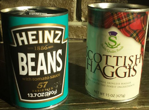 Haggis and Heinz Beans